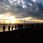 千葉のウユニ塩湖が世紀末!マジックアワー以降は最果ての墓場に変わっちゃう