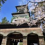 利家とまつもびっくりの尾山神社の門が素敵でした。